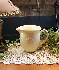 Oneida PETALS PATTERN Ceramic YELLOW PITCHER 64oz * * *LOVELY CONDITION* * *
