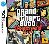 Grand Theft Auto: Chinatown Wars (Nintendo DS, 2009) GAME CARTRIDGE ONLY, A++
