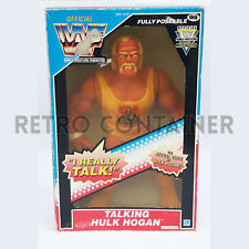 Vintage Hasbro WWE WWF Talking Hulk Hogan Giant Figure MISB MOC NEW