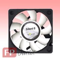 GELID SILENT 6 cm 60mm Low Noise Silence Durable PC Case Fan w/Screw FN-SX06-38