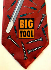 Home Improvement Touchtone Pictures Men's Big TooL Burgundy Classic Tie