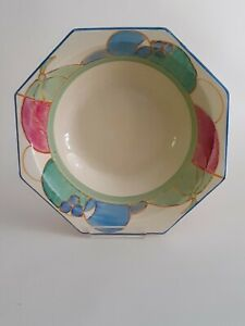 CLARICE CLIFF LOVELY  BOWL IN THE 'MELONS' PATTERN CIRCA 1932