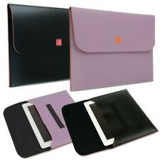 Universal Slim PU Leather Case Cover Envelope Pouch For 10.1 in Tablet [Black]