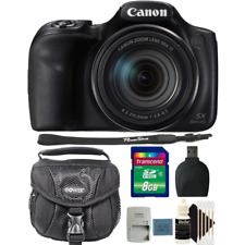 Canon Powershot SX540 HS 20.3MP Digital Camera with Deluxe Accessory Kit
