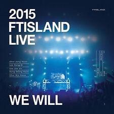Korea Music FTIsland - 2015 FTIsland Live [WE WILL] (2 DISC) (DVDMU285)