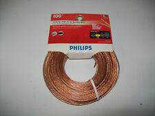 Philips High Grade Speaker Wire 16 Gauge100 feet