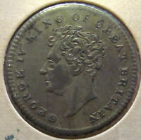 GREAT BRITAIN TOKEN GEORGE IV. 1830 25MM. Death Memorial Token, Medal.