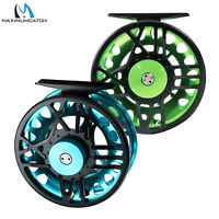 Maxcatch TimeFly 5/6/7/8wt Fly Fishing Reel CNC Machined Cut Aluminum Fly Reel