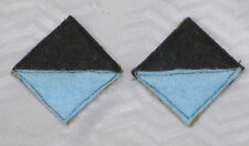 WW1 25th AIF battalion colour patch,s =1 pair