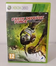 EARTH DEFENSE FORCE INSECT ARMAGEDDON XBOX 360  ITALIANO COMPLETO COME NUOVO