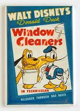 Window Cleaners FRIDGE MAGNET (2 x 3 inches) movie poster pluto donald duck
