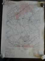 1943 - ANTIQUE Geographic Map of PLAINFIELD, NJ - IArmy Map Service