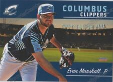 2018 Columbus Clippers Evan Marshall RC Rookie Cleveland Indians