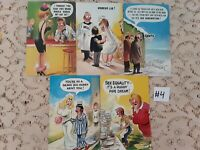 Lot of 5 Funny Novelty Risque ADULT Unused Bamforth Postcards #4