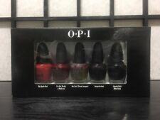 Opi The Top Ten Mini Nail Lacquers Polish 5 pc 3.75 ml N25 H08 F16 H63 W42