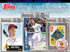 ATLANTA BRAVES   2020 CLEARLY AUTHENTIC 1 CASE (20 BOXES) CASE BREAK #3