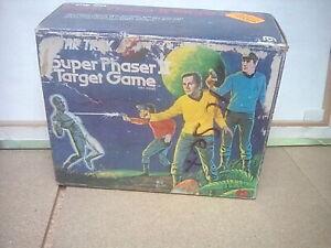 Star Trek The Original Series Mego Super Phaser Two Target Game