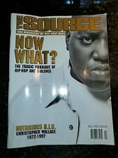 RARE Vintage The Source Magazine - May 1997 No. 92 - Notorious BIG Death Cover