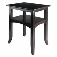 Accent End Table Sofa Side Display Storage Stand Living Room Furniture Wood New