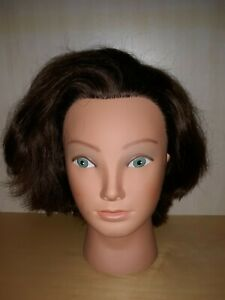Marianna Brown Hair Stylist Salon Training Cosmetology Female Head Halloween