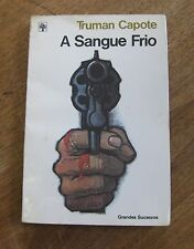 IN COLD BLOOD by Truman Capote - Brasil PB 1980 - Portugese - A SANGRE FRIO