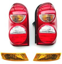 JEEP CHEROKEE LIBERTY 2005-2007 Rear tail stop signal lights + Front signals set