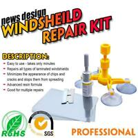 Windscreen Windshield Repair Tool Set DIY Car Kit Wind Glass For Chip Crack UK