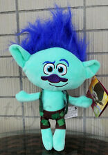 "Overly Prepare figure 10"" Plush Toy The Good Luck Trolls Branch Stuffed Animal"