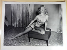 Photo vintage Lili St-Cyr-41 d'Irving Klaw d'apres négatif original 30x40