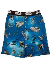 STAR WARS  Cotton Blnd Graphic Gray Pajama Shorts SR$30 NEW