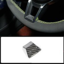 FOR Porsche Cayenne 2011-2017 carbon fiber car steering wheel lower cover trim