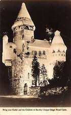 Hamburg New Jersey view of Ginger Bread Castle real photo pc Y10924