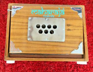 Maharaja Musicals Shruti Box - Teak Wood - 13 Drones