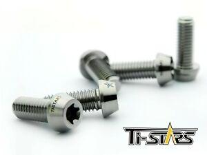Screw Bolt M6x1.0 Torx Titanium 6AL-4V Gr.5 Forged Taper star 35mm-50mm lot