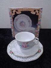 Porcelana Colección - Durchbrucharbeit - Flores/Flores