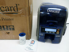 Dual sided Photo ID Card Printer Datacard SD360 100-Card Hopper PX20 535504-001