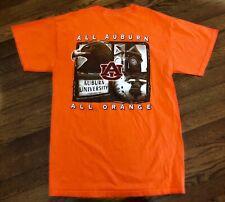 AU Shirt AUBURN UNIVERSITY All Orange College Swag Adult S Small Collegiate