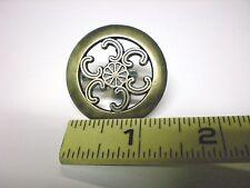 """Pack Of 10 Antique Finish Knob 1-1/2"""" Diameter"""