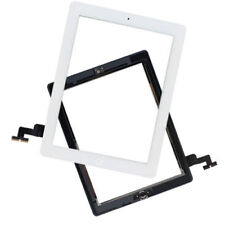 White Touch Screen Digitizer With Home Button+Adhesive+Camera Bracket for iPad 2