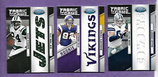 Lot of 3 2011 Panini Certified Team Die-Cut Jersey Relics  #/25 Revis Witten