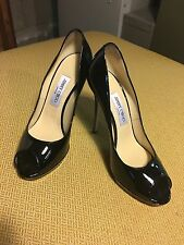 Black Patent Leather Jimmy Choos Size 39