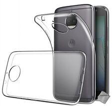 Housse etui coque gel fine Motorola Moto G5s Plus + verre trempe - TRANSPARENT T