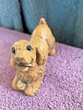 "Isabel Bloom Rare-newer Retired ""My Little Dog� Cocker Spaniel With Ball - Tan"