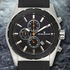 Studer Schild Volta  Chronograph Mens Watch MSRP $879.00 (Available in 4 Colors)