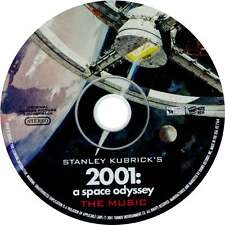 """Stanley Kubricks """"2001 A SPACE ODYSSEY"""" - Music Soundtrack CD (New) - DISC ONLY"""