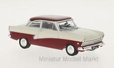 #190 - Whitebox Ford Taunus 17m (P2) - weiss/dunkelrot - 1957 - 1:43