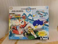 K'Nex Mariokart Wii Mario & Bowser Ice Race Building Set Unused