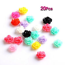 20pcs 3D Sticker Nail art Sticker Decor for Nail DIY Rose YM