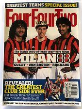 """Four Four Two Magazine """"Milan 88"""" October 2013"""