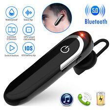 Wireless Headset Sport Stereo Headphone Earphone in Ear-Hook Earpiece Universal
